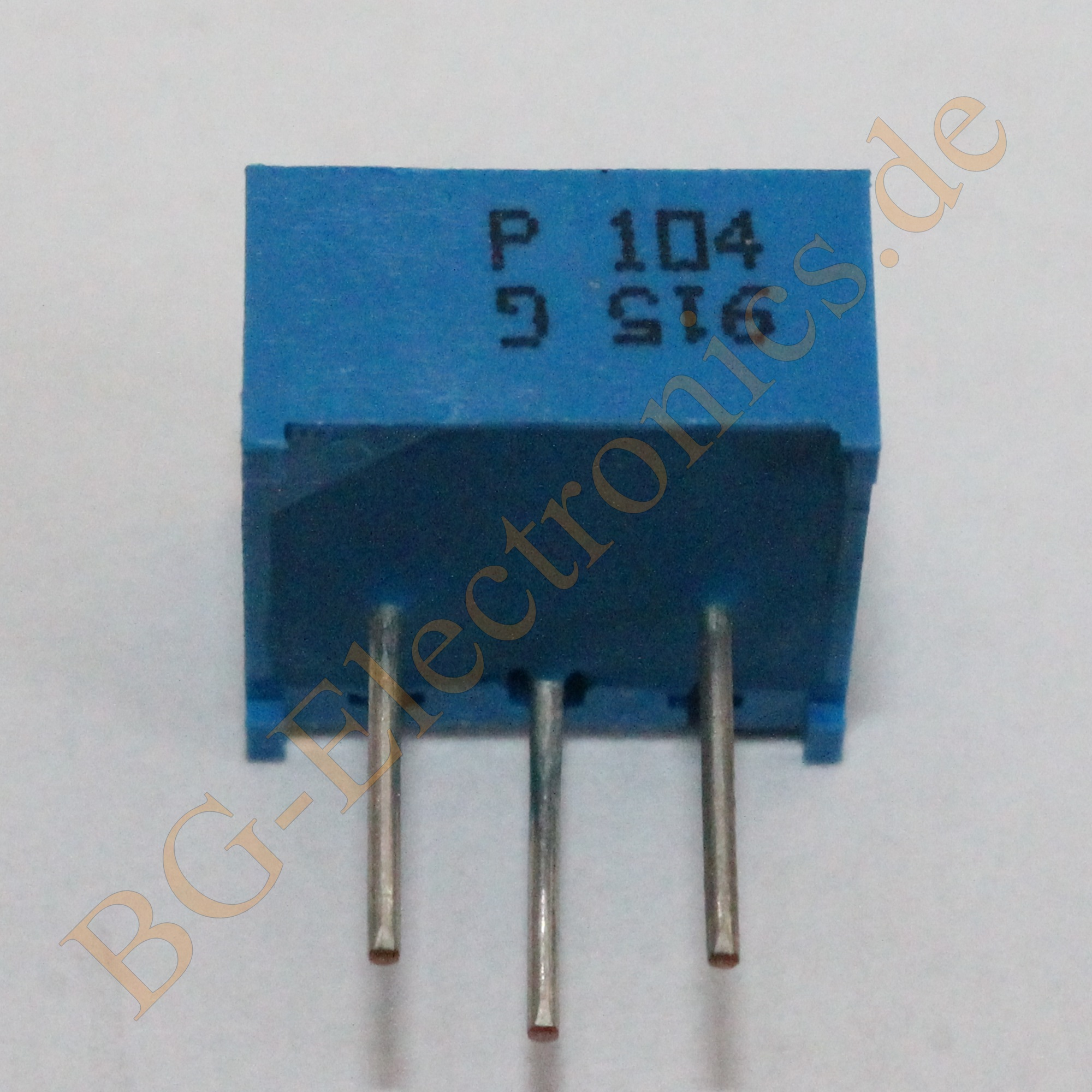 Trimmer 100 KΩ ligend gekapselt