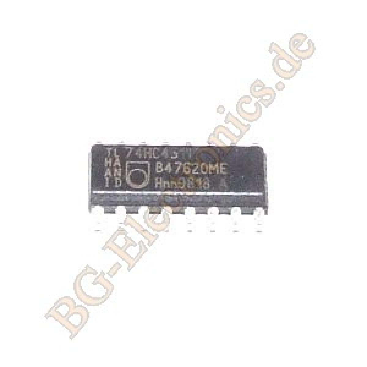 2-x-74HC4511D-BCD-to-Seven-Segment-Latch-Decoder-Display-D-Philips-SO-16-2pcs