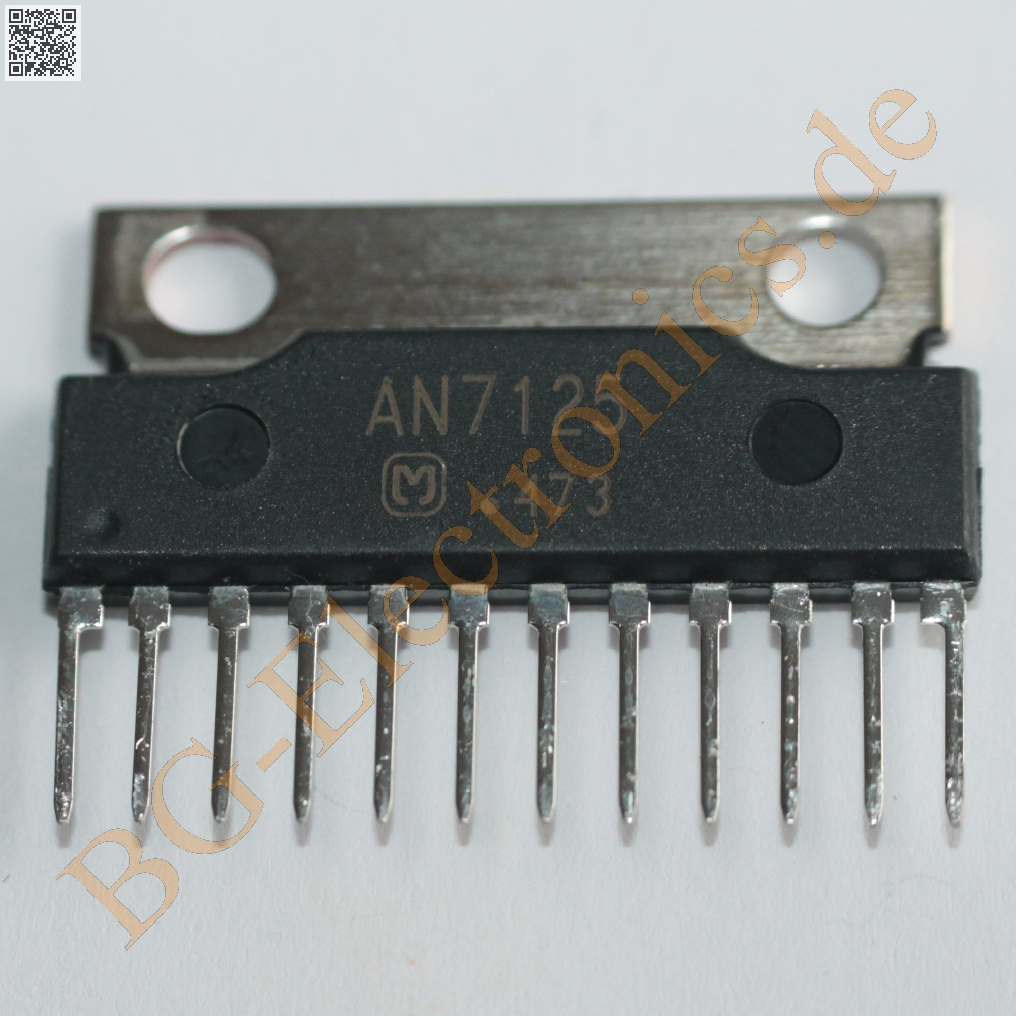 An7125 Bg Electronics 932213318682 Integrated Circuit Transistors Manufacturers Dual Channel Btl Power Amplifier Is A Monolithic Designed For 135 W 12 V4 Output Audio Amplifierit Ic