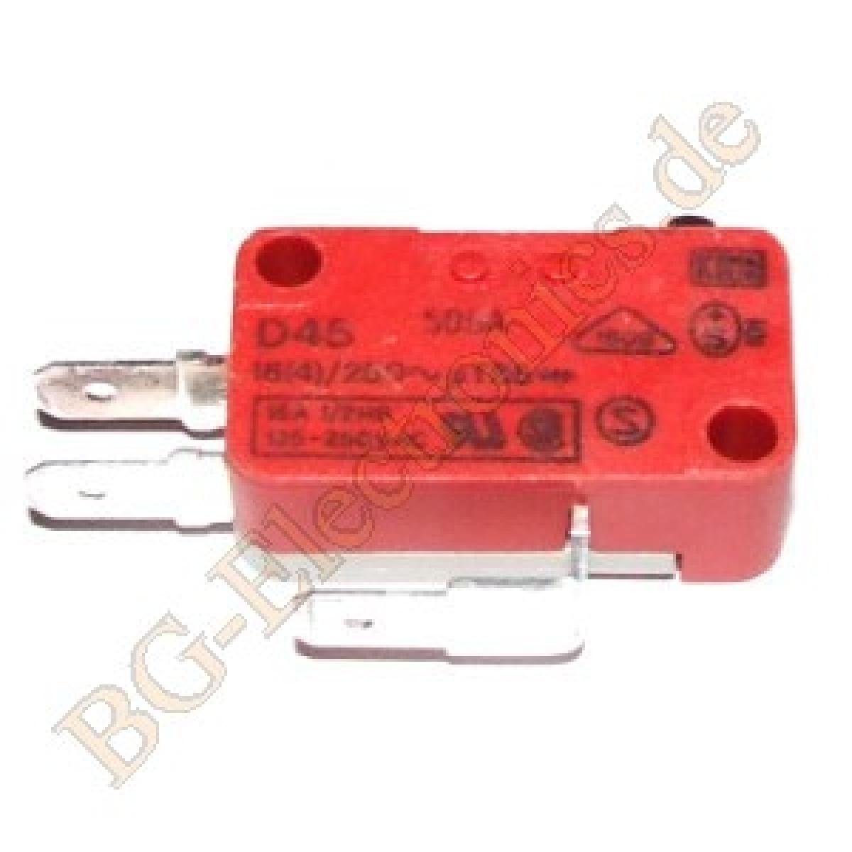 1-x-Schnappschalter-D45T85R1AA-Schnappschalter-Mikroschalter-Cherry-1pcs