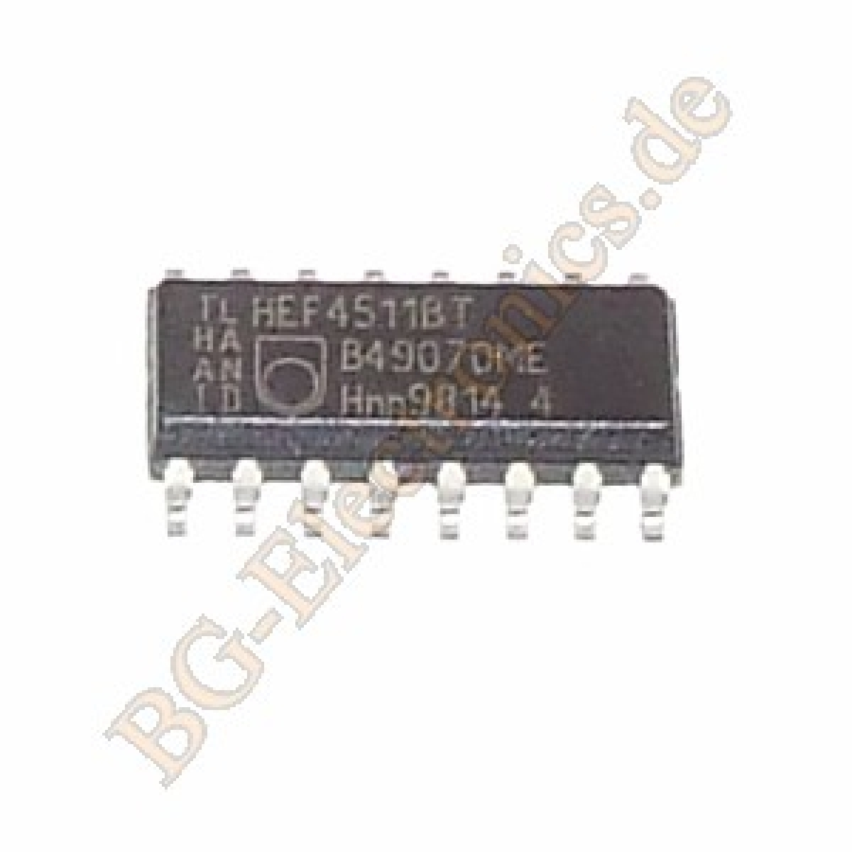 2-x-HEF4511BT-BCD-to-7-segment-latch-decoder-driver-Philips-SO-16-2pcs