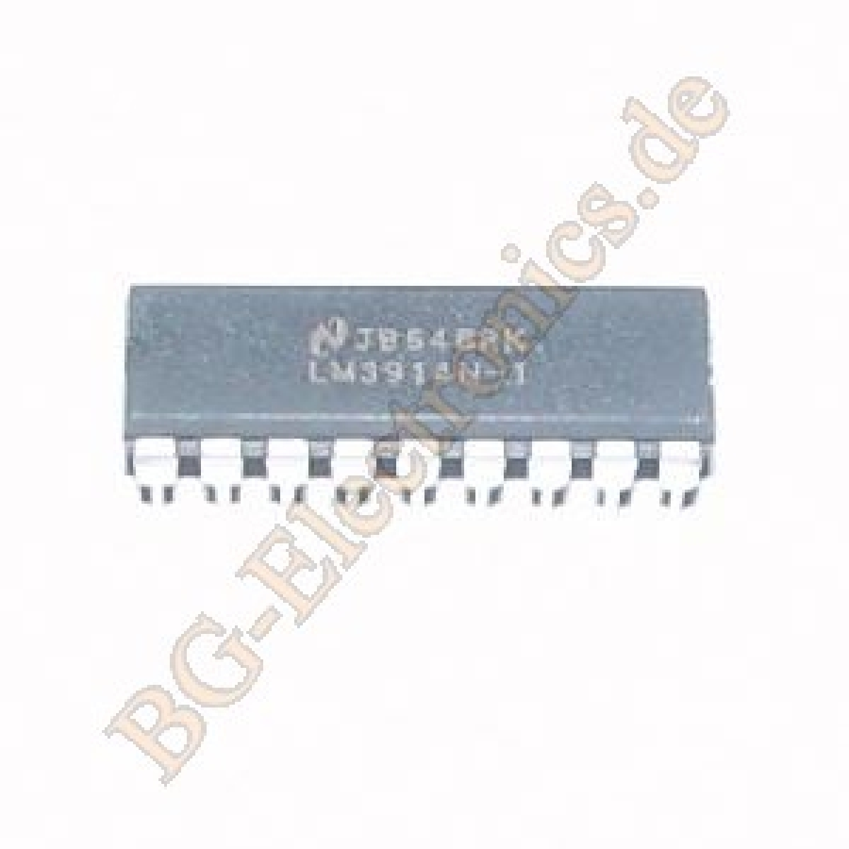 Lm3914n 1 Bg Electronics Lm3914 Basic Circuit For