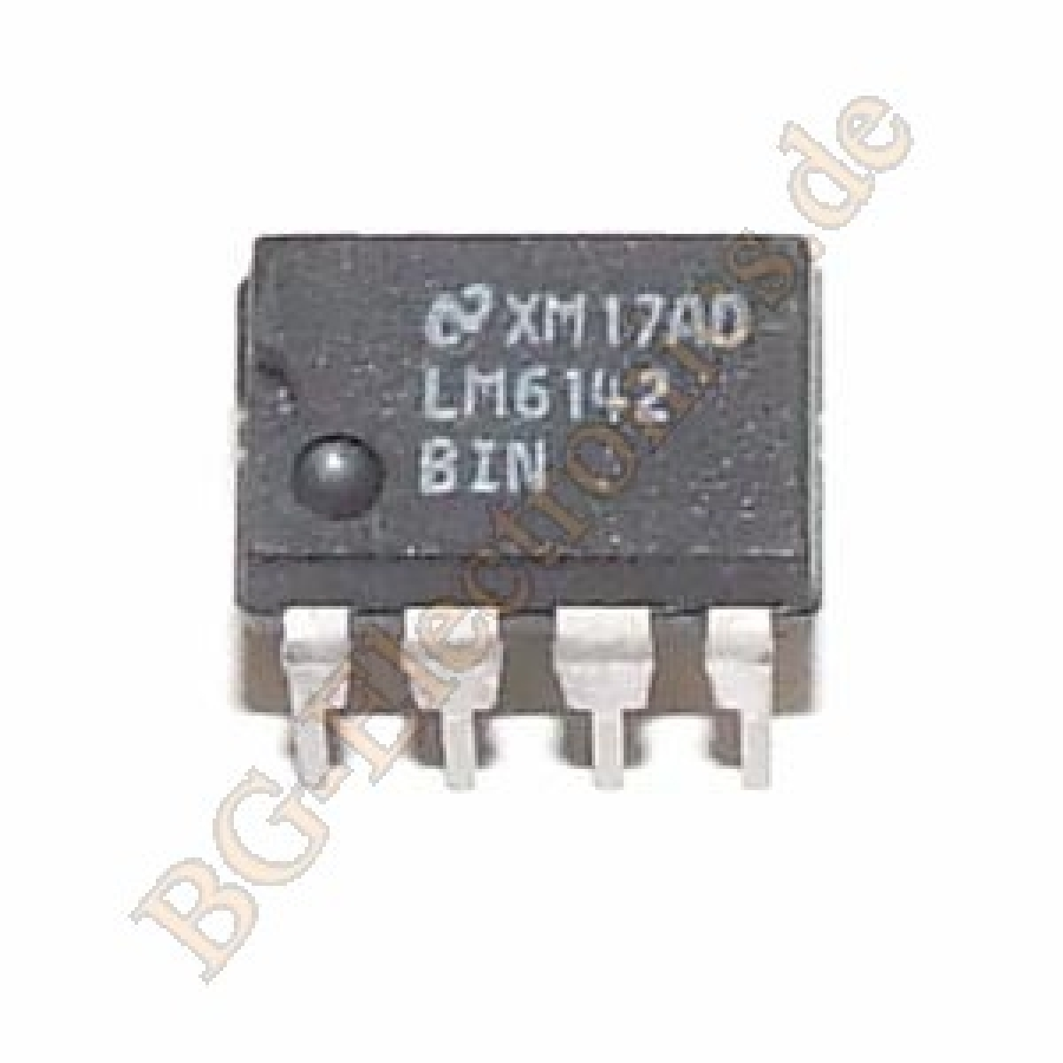 Lm6142bin Bg Electronics Lm6142bi Lm6142b Lm6142 Rail To Output Differential Amplifier High Speed Low Power 17 Mhz Input Operational