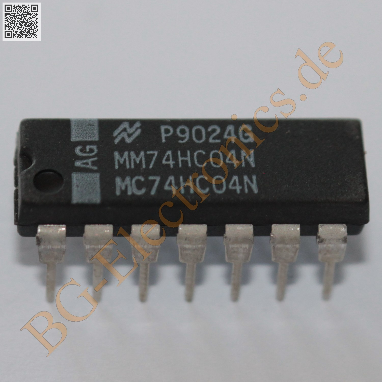 MM74HC04N, BG-ELECTRONICS MM74HC04N, 74HC04N, MC74HC04N