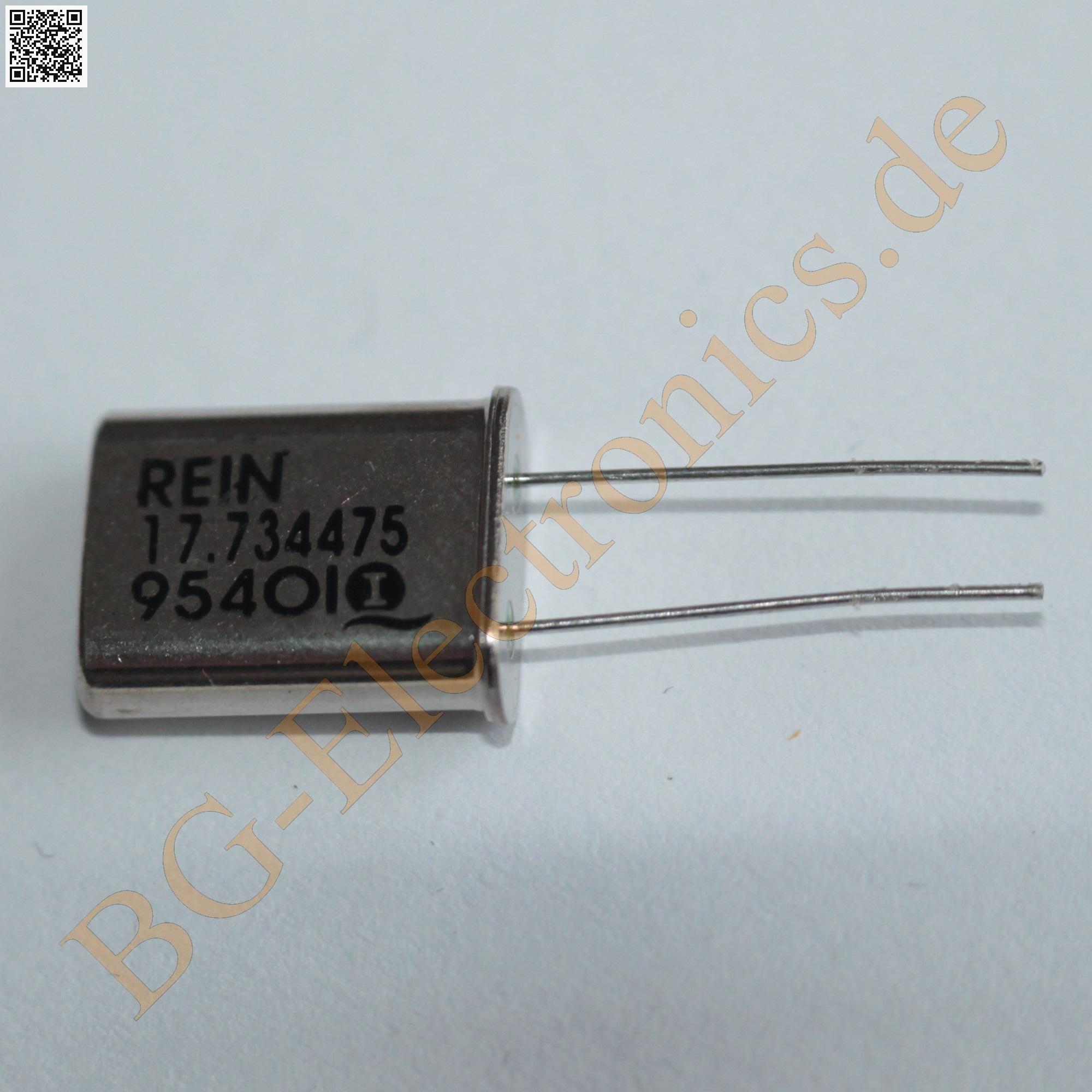 Quarz 8.867238 MHz HC49/U, BG-ELECTRONICS Quarz 8.867238 MHz
