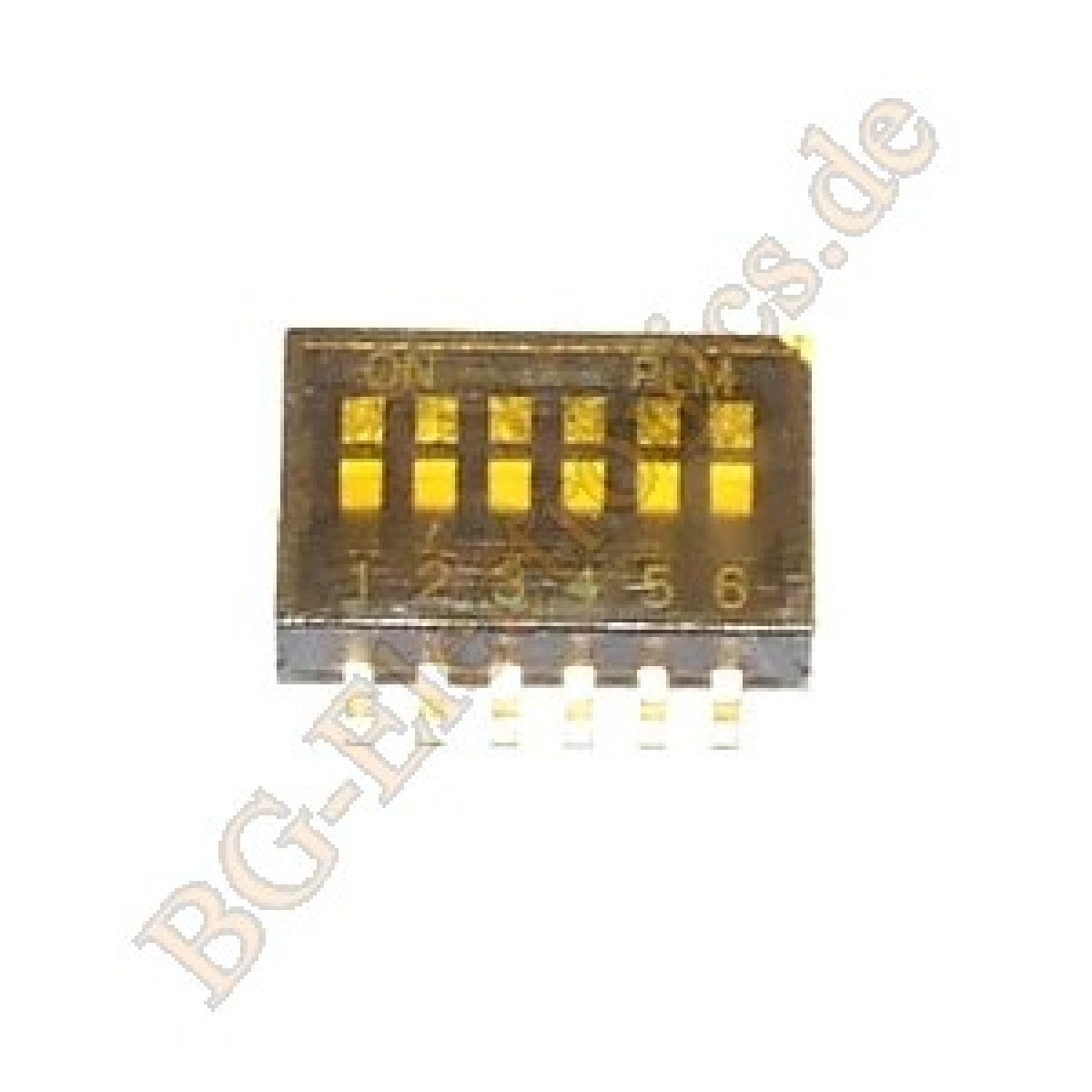 10-x-DIPS-6POL-Ultra-miniature-Surface-Mount-Half-pitch-DIP-C-K-Compon-10pcs