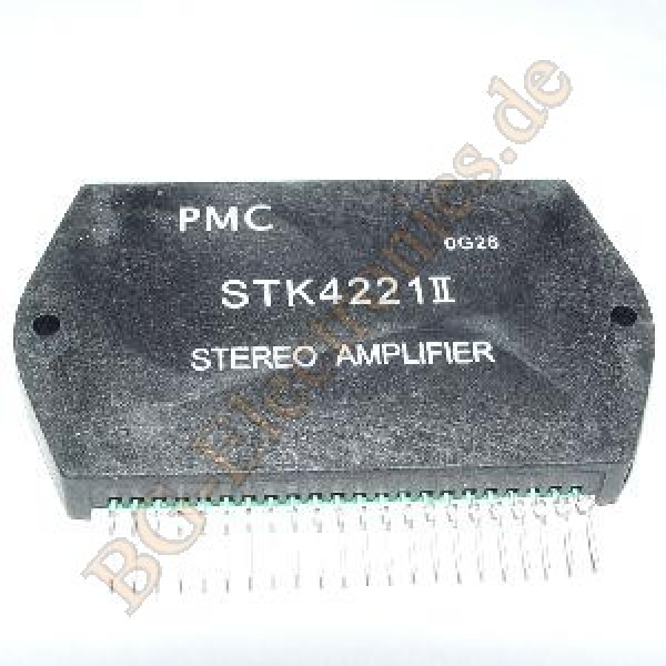1-x-STK4221-II-AF-Power-Amplifier-Split-Power-Supply-80-W-80-W-PMC-1pcs