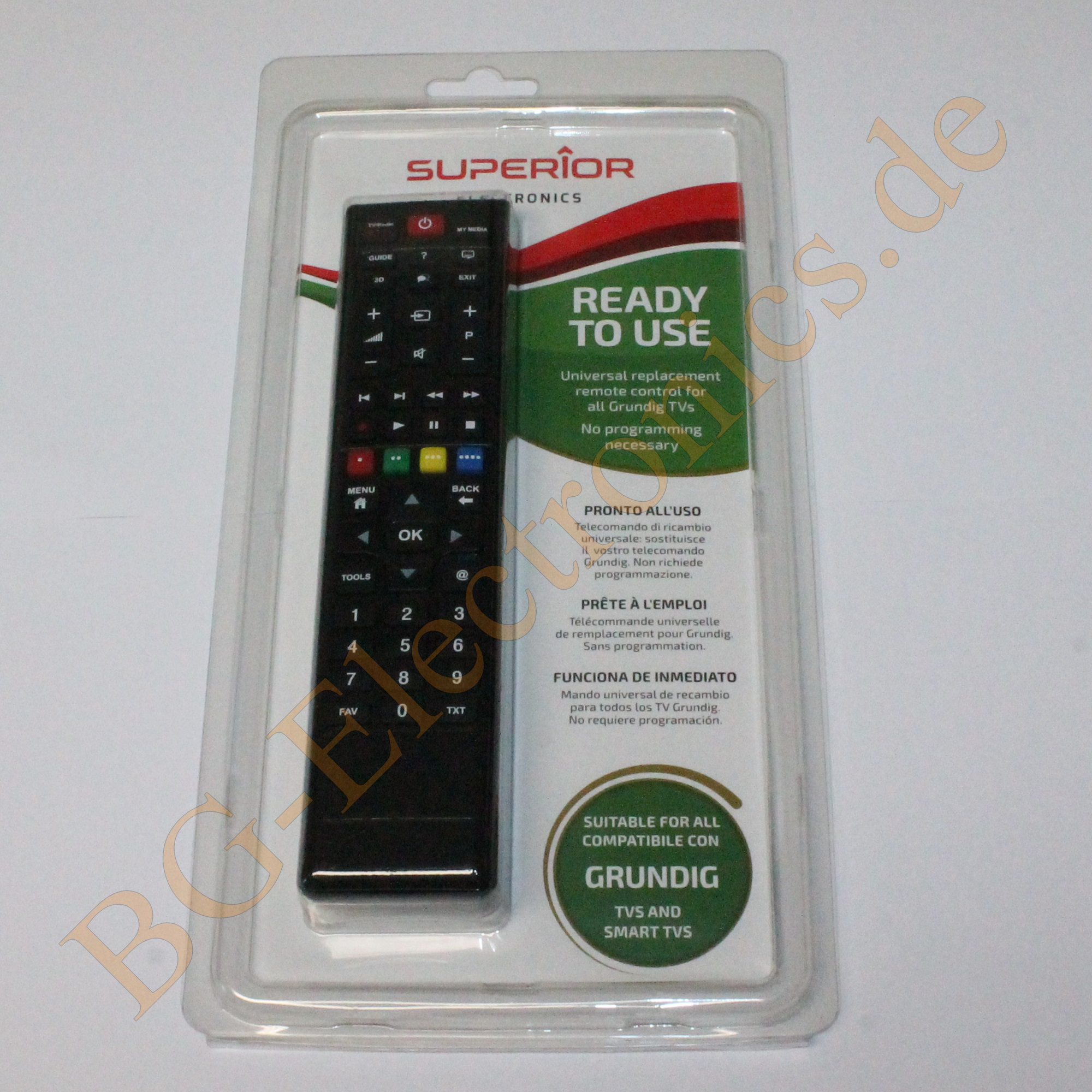UNI RemoteControl SMART TV SUPTRB001