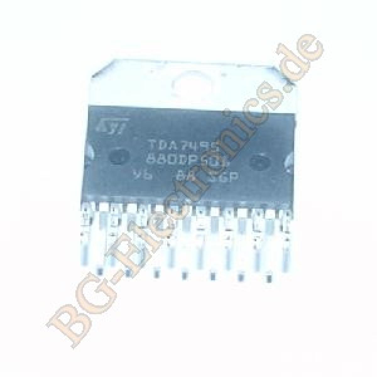 Lm380n Bg Electronics Lm380 25 Watt Amplifier Cqx35 Tda7495