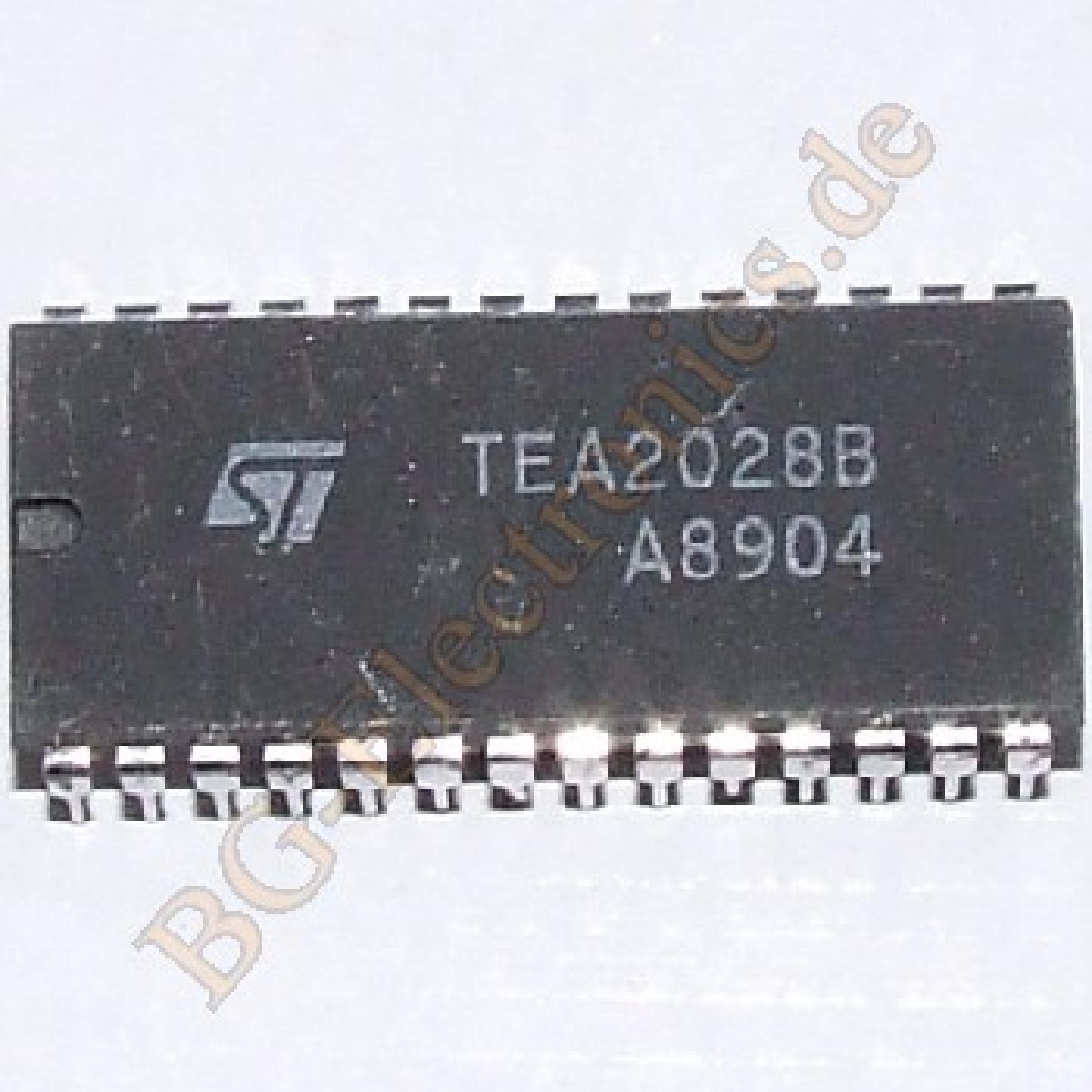 TEA2028B, BG-ELECTRONICS TEA2028B, TEA2028