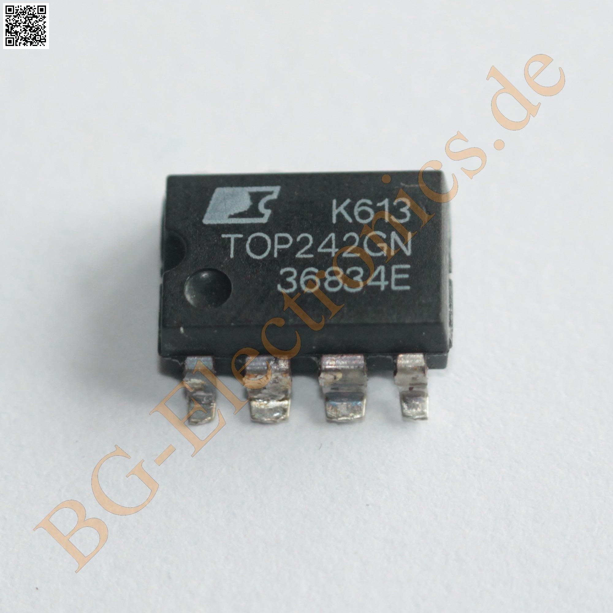 10PCS TOP242 TOP242PN POWER IC OFFLINE SWIT OVP UVLO HV 7DIP NEW