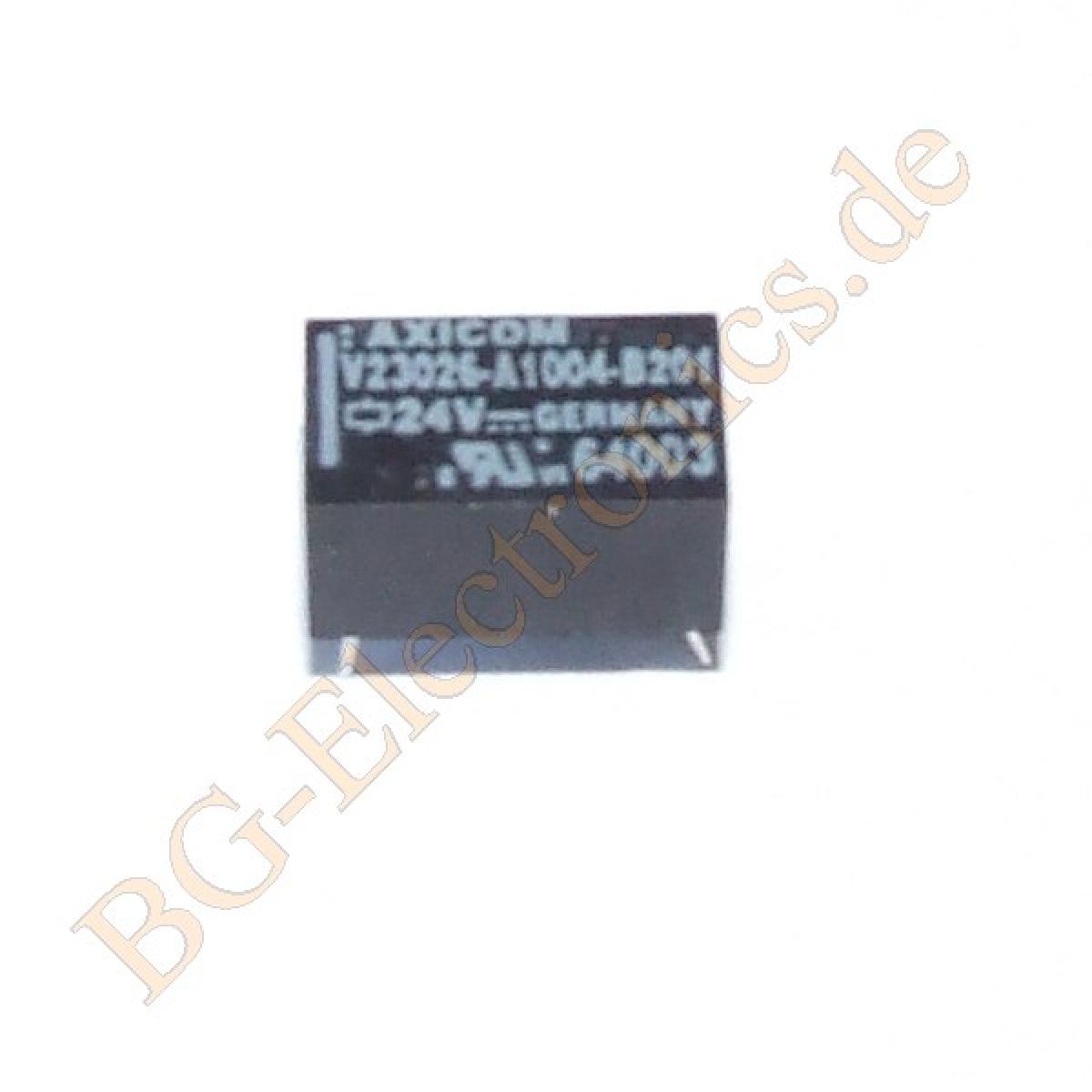 1-x-V23026-A1004-B201-Low-Signal-Relays-PCB-7-62mm-6-9mm-13mm-Axicom-1pcs