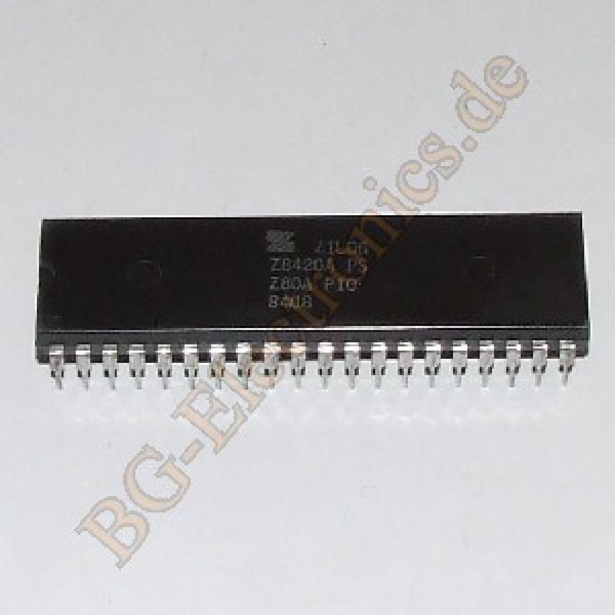 1-x-Z8420A-NMOS-CMOS-Z80-PIO-PARALLEL-INPUT-OUTPUT-Z8420APS-Zilog-DIP-40-1pcs