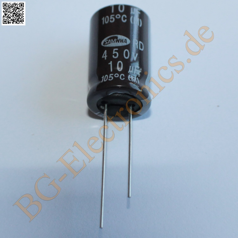 Kondensator capacitor Philips 470uF 10V NOS 10 Elko RM5