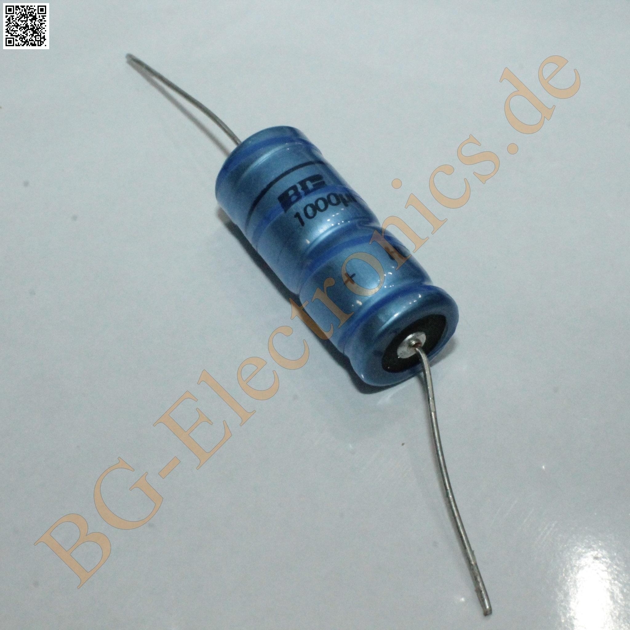 1 x 470µF 470uF 63V 85° Elko Kondensator Capacitor axial EL-A 470µF Vishay  1pcs