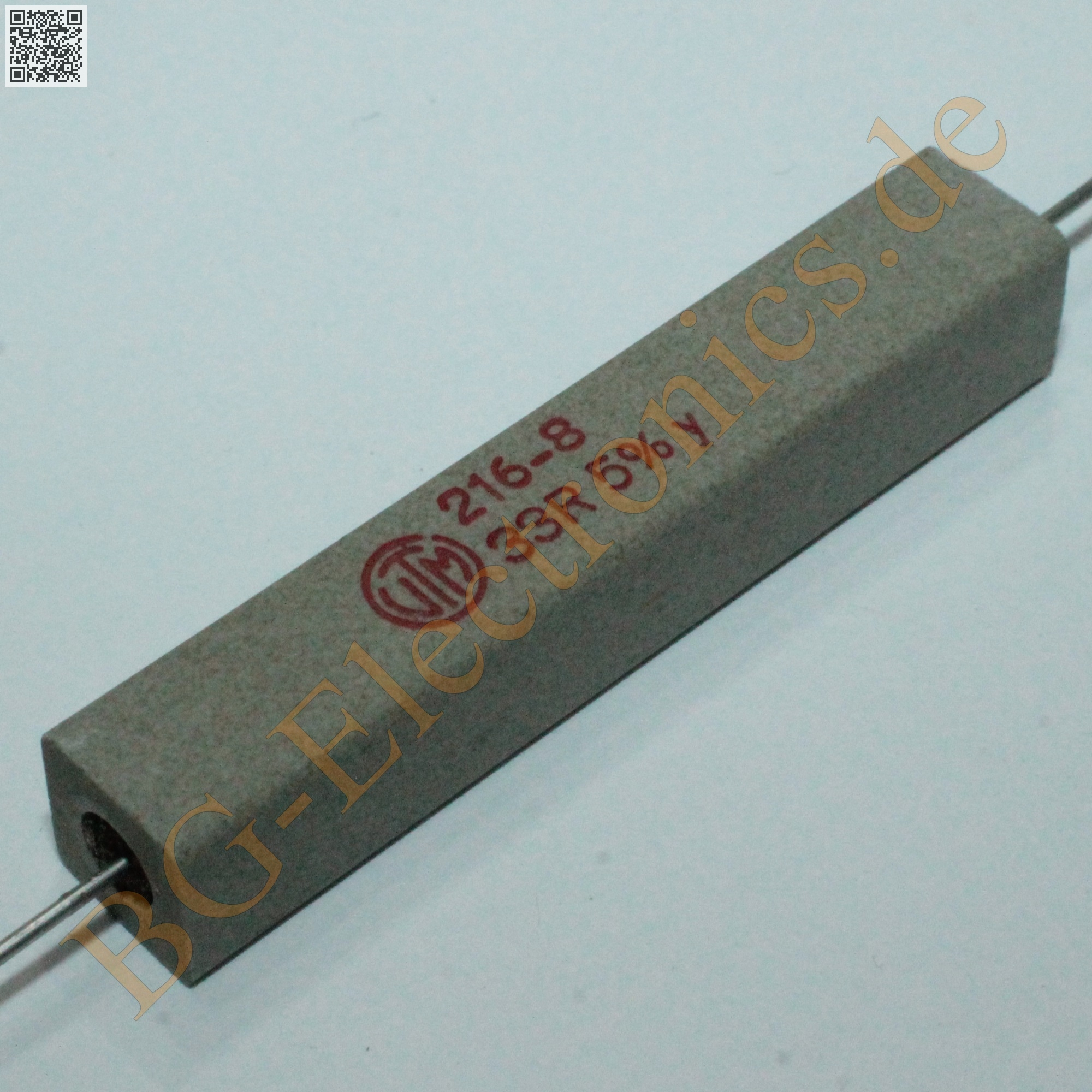 2 x 33 11w 33ohm widerstand resistor vitrohm 2pcs ebay. Black Bedroom Furniture Sets. Home Design Ideas