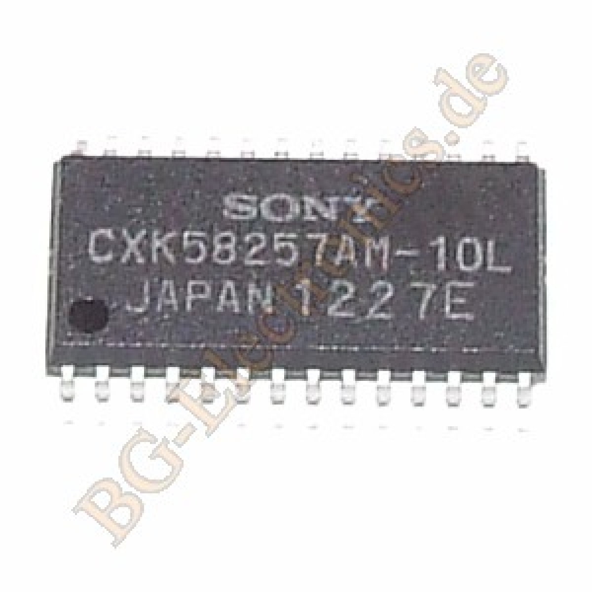 1 x CXK58257AM-10L 32768-Word x 8-BIT HIGH SPEED CMOS STATIC  Sony SO-28 1pcs
