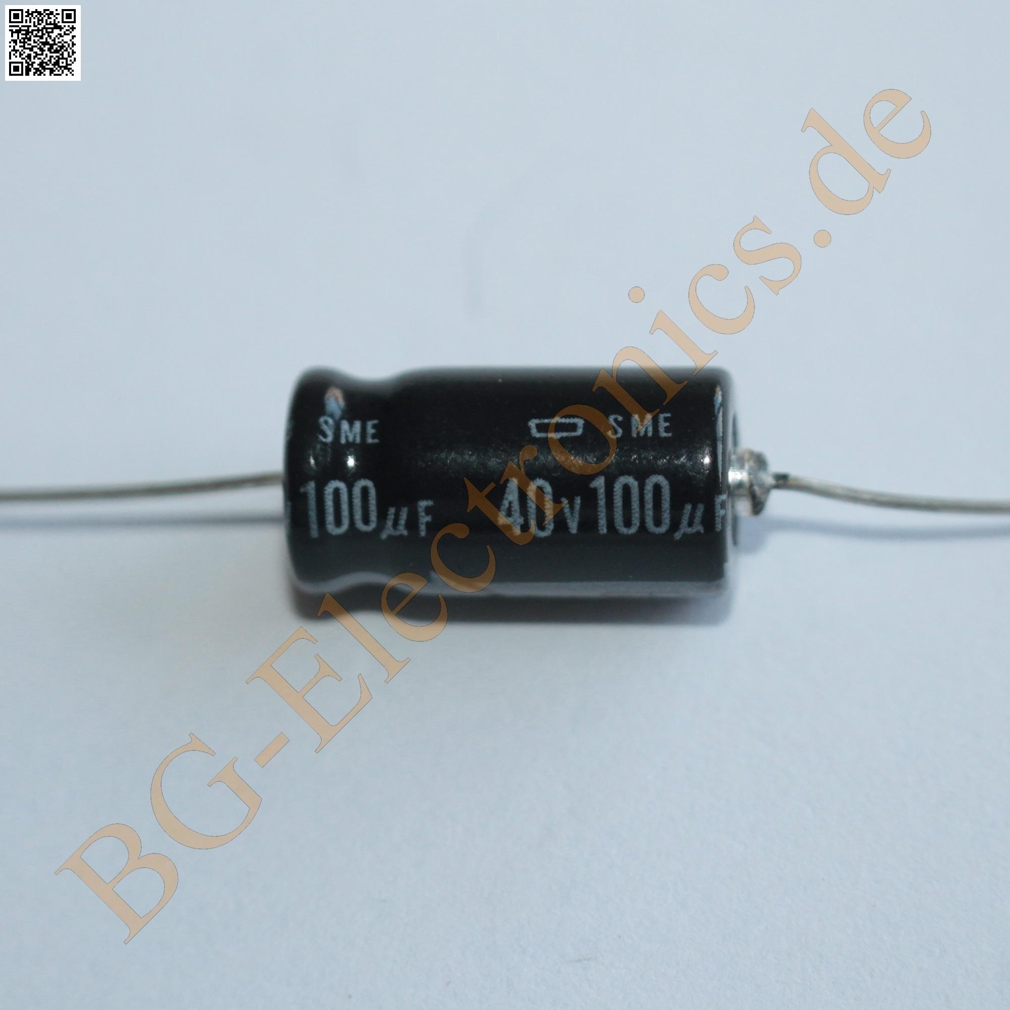 5 x 100µF 100uF 50V 85° Elko Kondensator Capacitor axial Roederste  5pcs