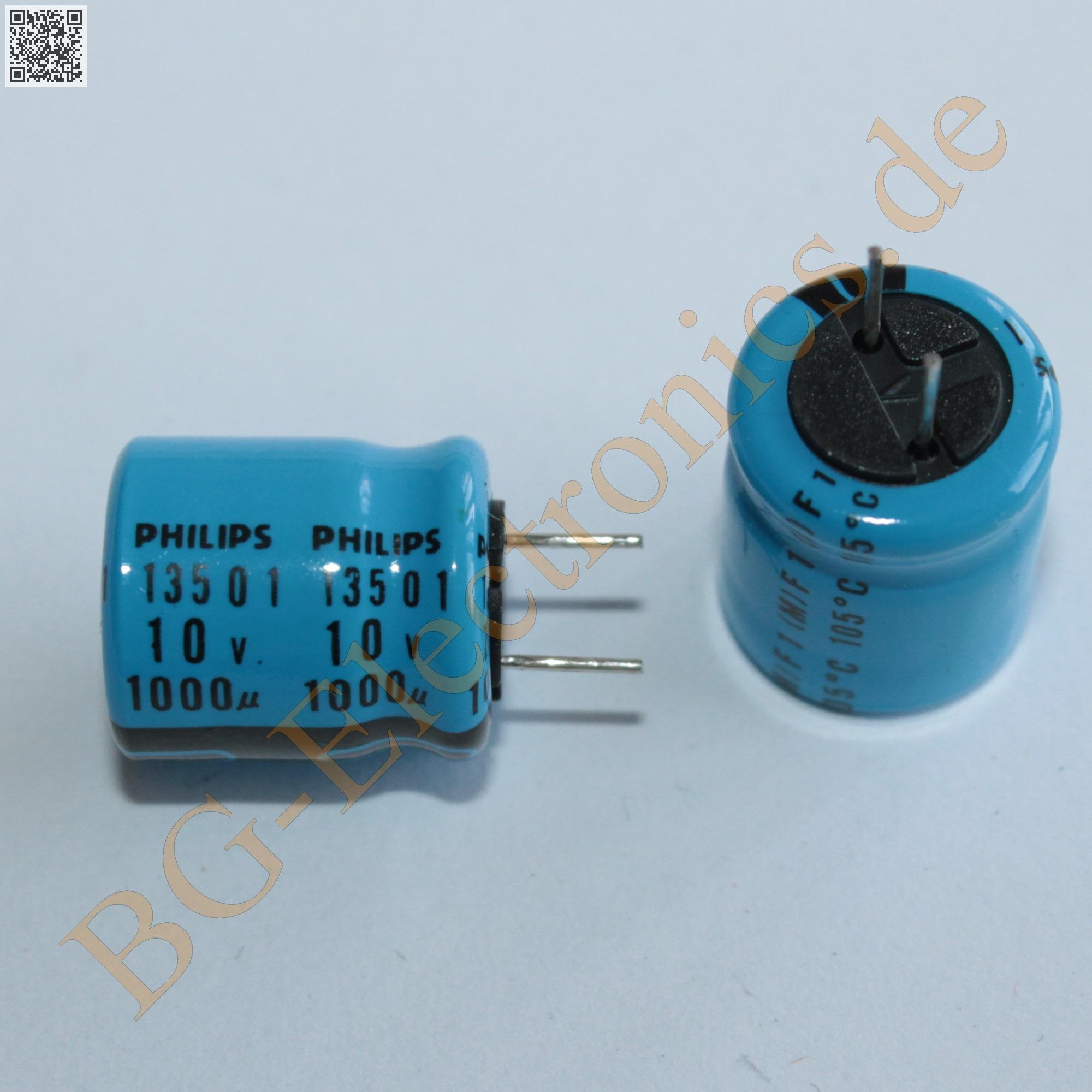 63V Philips  5pcs 5 x 10µF 10uF 63V Elko Kondensator Capacitor axial 10µF