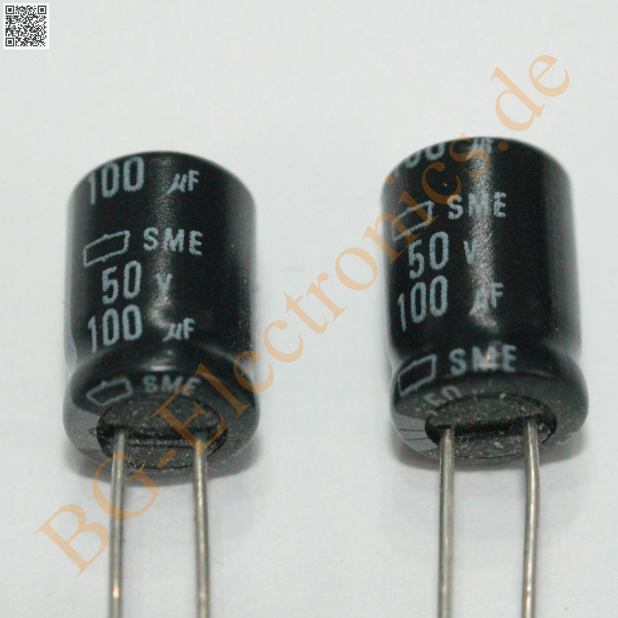 5 x 100µF 100uF 50V 85° RM3.5 Elko Kondensator Capacitor Radi Nippon Ch  5pcs