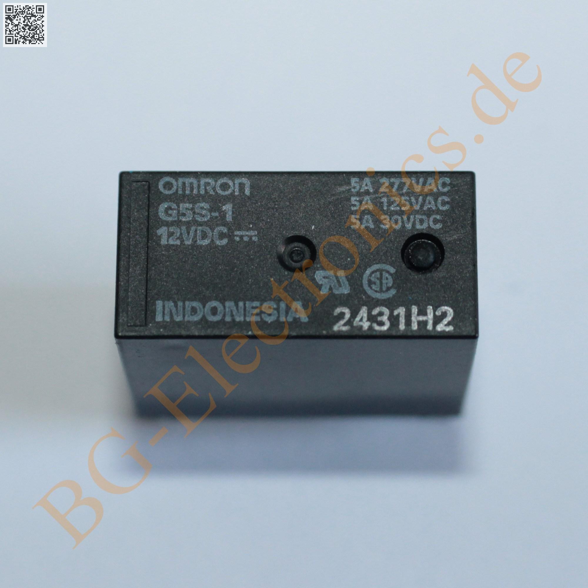 1 x g5s 1 dc12 pcb relay ag 12v 360 g5s 1 12dc omron 1pcs ebay. Black Bedroom Furniture Sets. Home Design Ideas