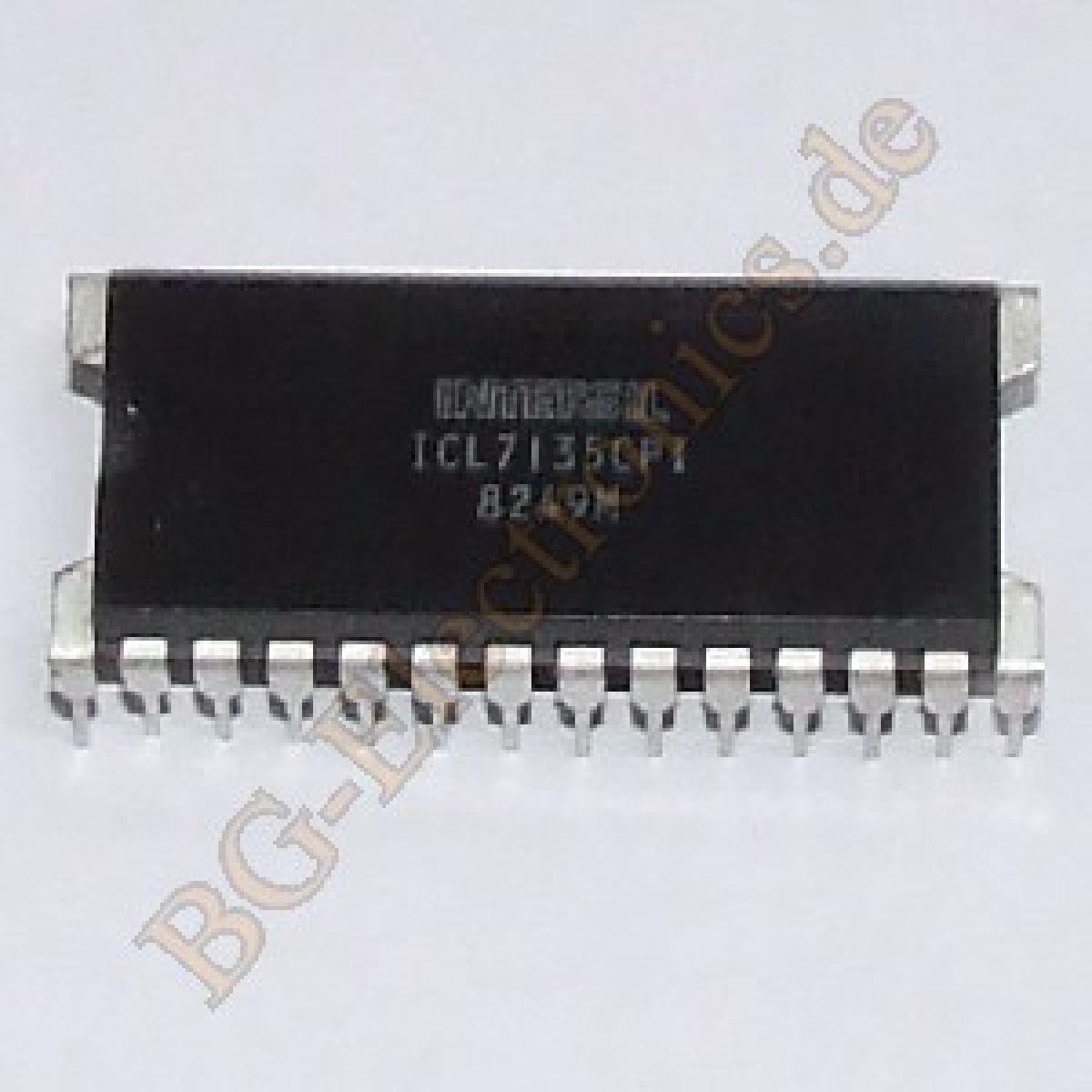 1 x icl7135cpi 4 5 digit led lcd ad converter icl7135 cpi intersil dip 28 1pcs ebay. Black Bedroom Furniture Sets. Home Design Ideas