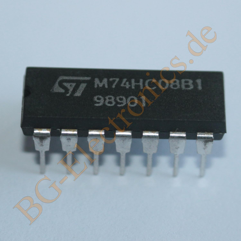 NS MM74C08N DIP-14 Quad 2-Input AND Gate