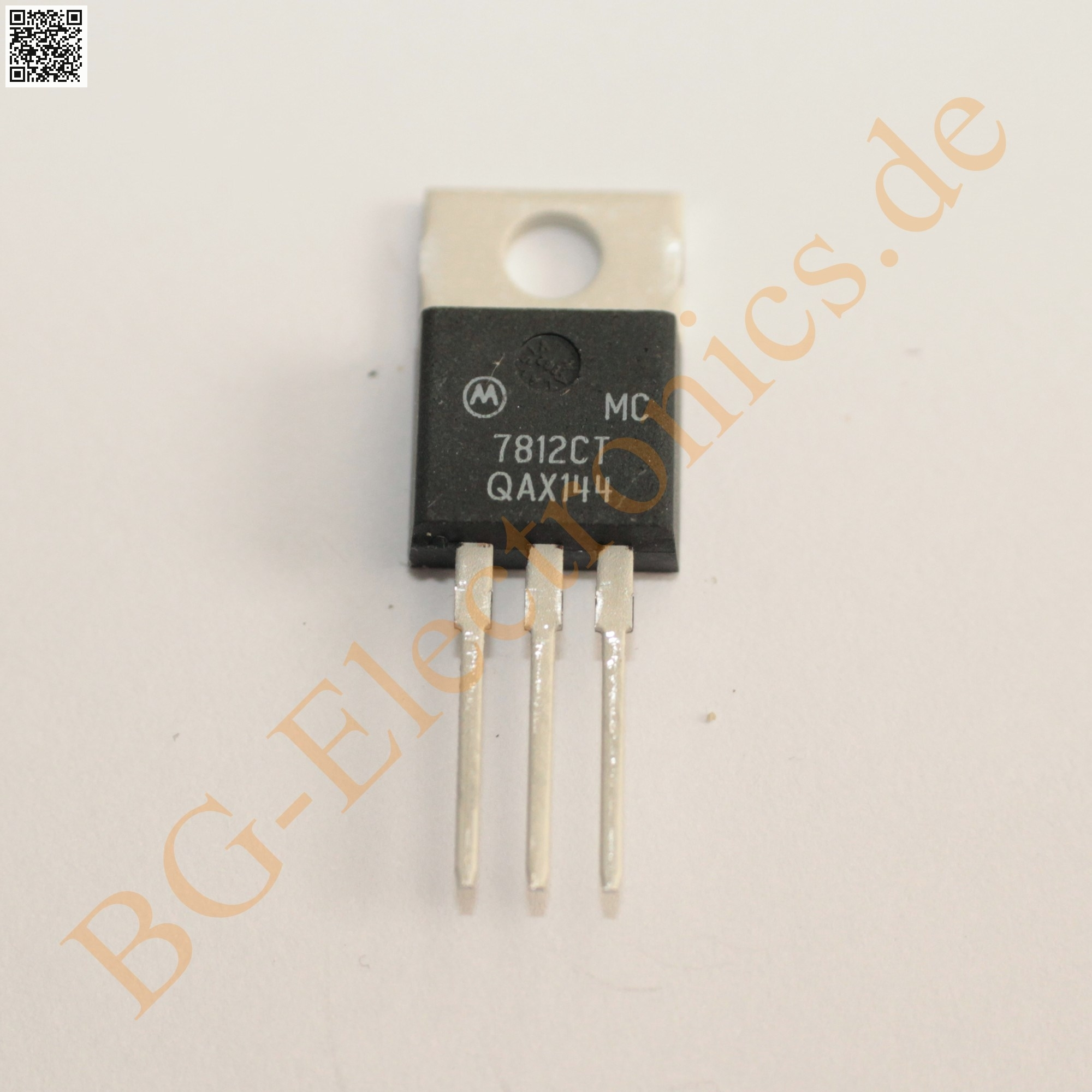Mc7812ct Bg Electronics Mc7812c Mc7812 7812ct 7812c 7812 Regulator Circuit Three Terminal Positive Fixed Voltage Regulators