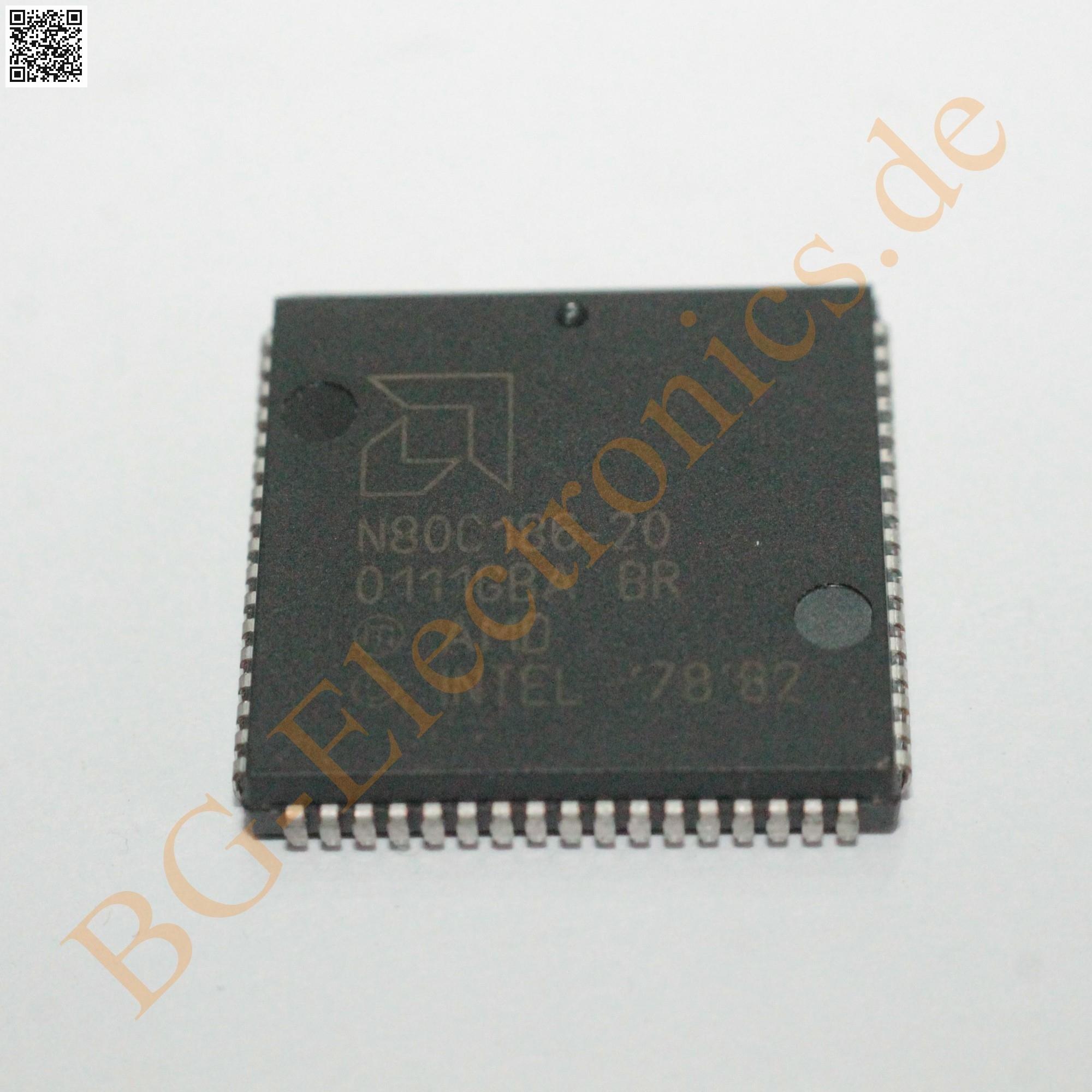 Intel EE80C196NT EN80C196NT 80C196 16BIT MPU MCU 5V 20MHz PLCC68 x 1pc