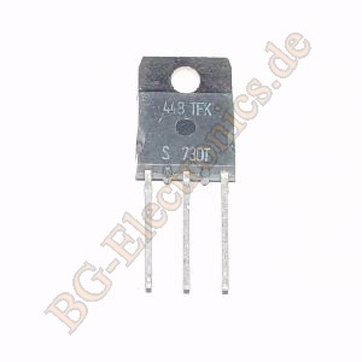 1 x buv30 NPN Darlington Transistor 80w 400v 7a TFK to-220 1pcs