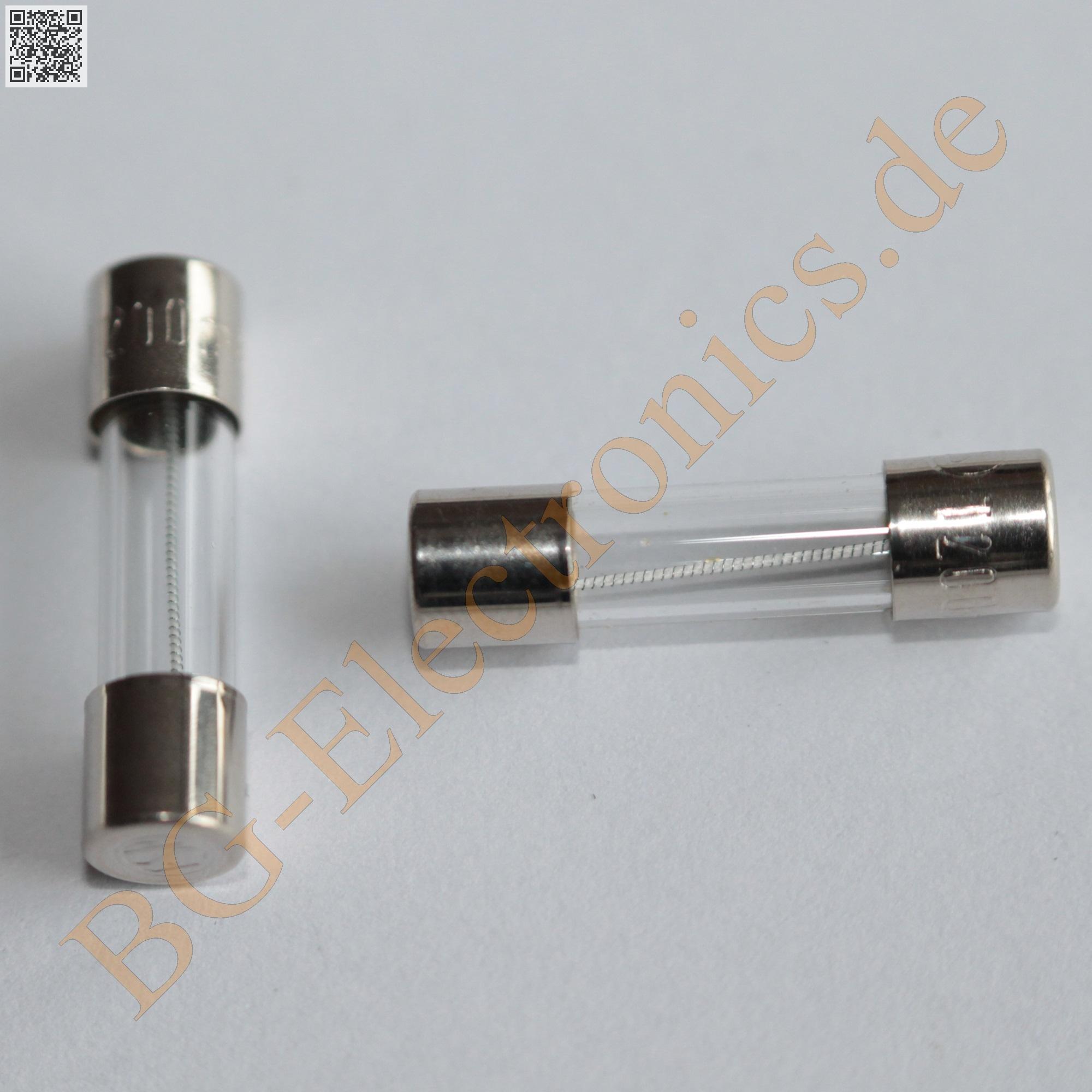 10 x F 5,00A  Feinsicherungen Fuse Miniature Glassicherunge Eska 5x20mm 10pcs