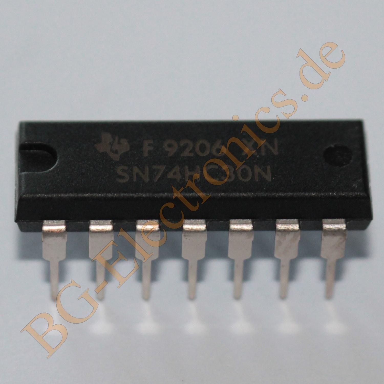 10 x 74F00N Quad 2-Input NAND Gate N74F00N DIP-14