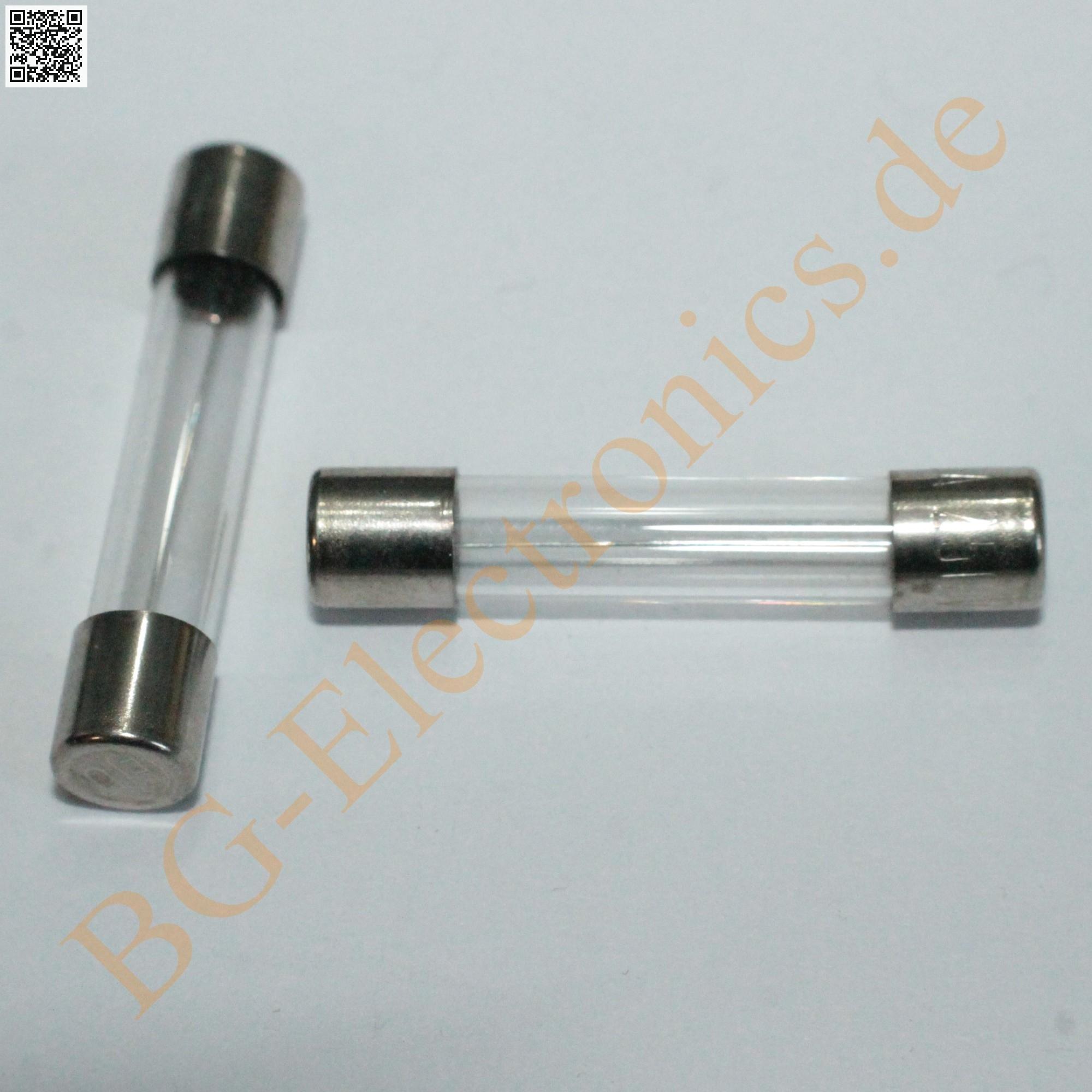 10 x T 1A  Feinsicherungen Fuse Miniature Glassicher FSP Püsch 6,3x32mm 10pcs