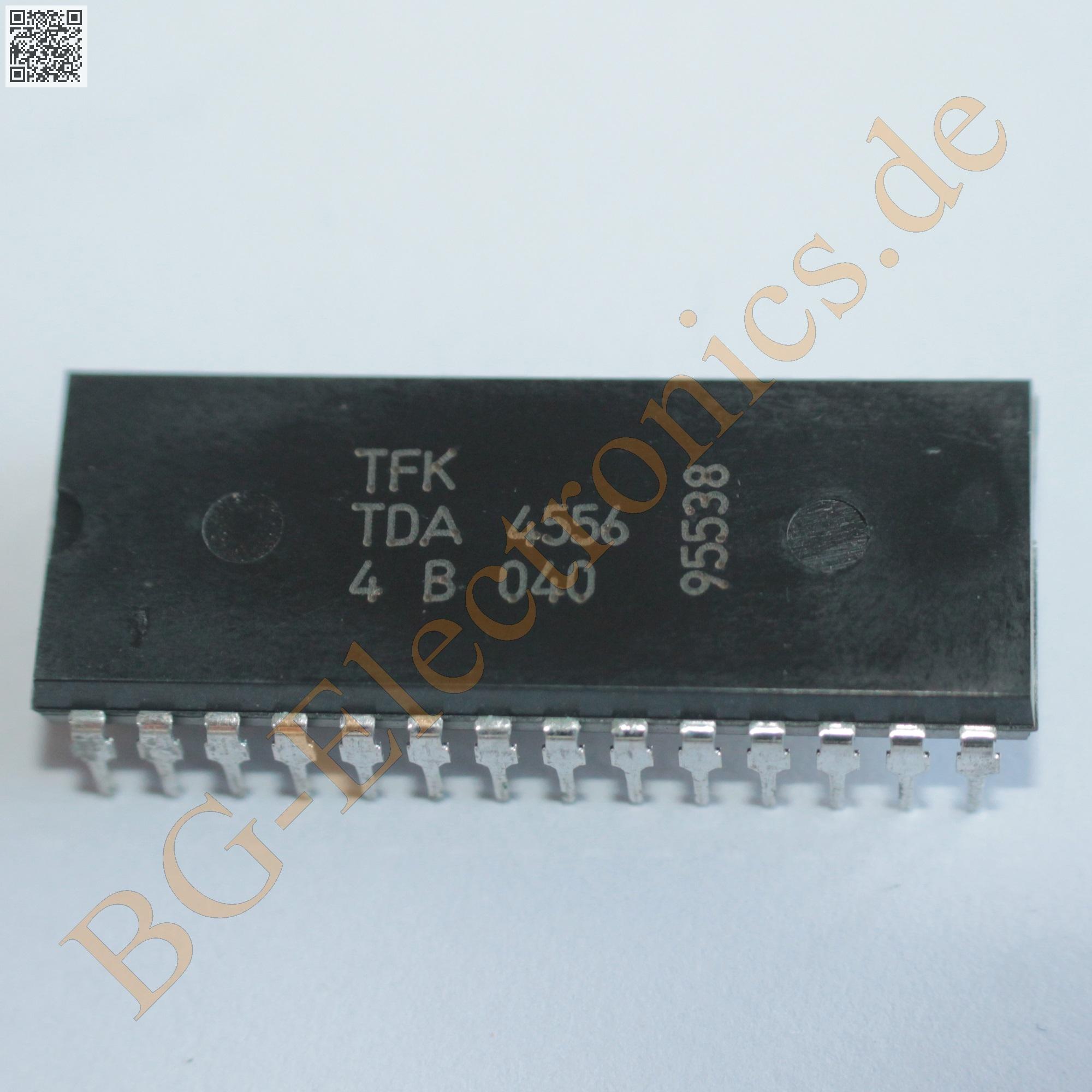 1 x TDA4556 PAL//SECAM//NTSC DECODER TFK DIP-28 1pcs
