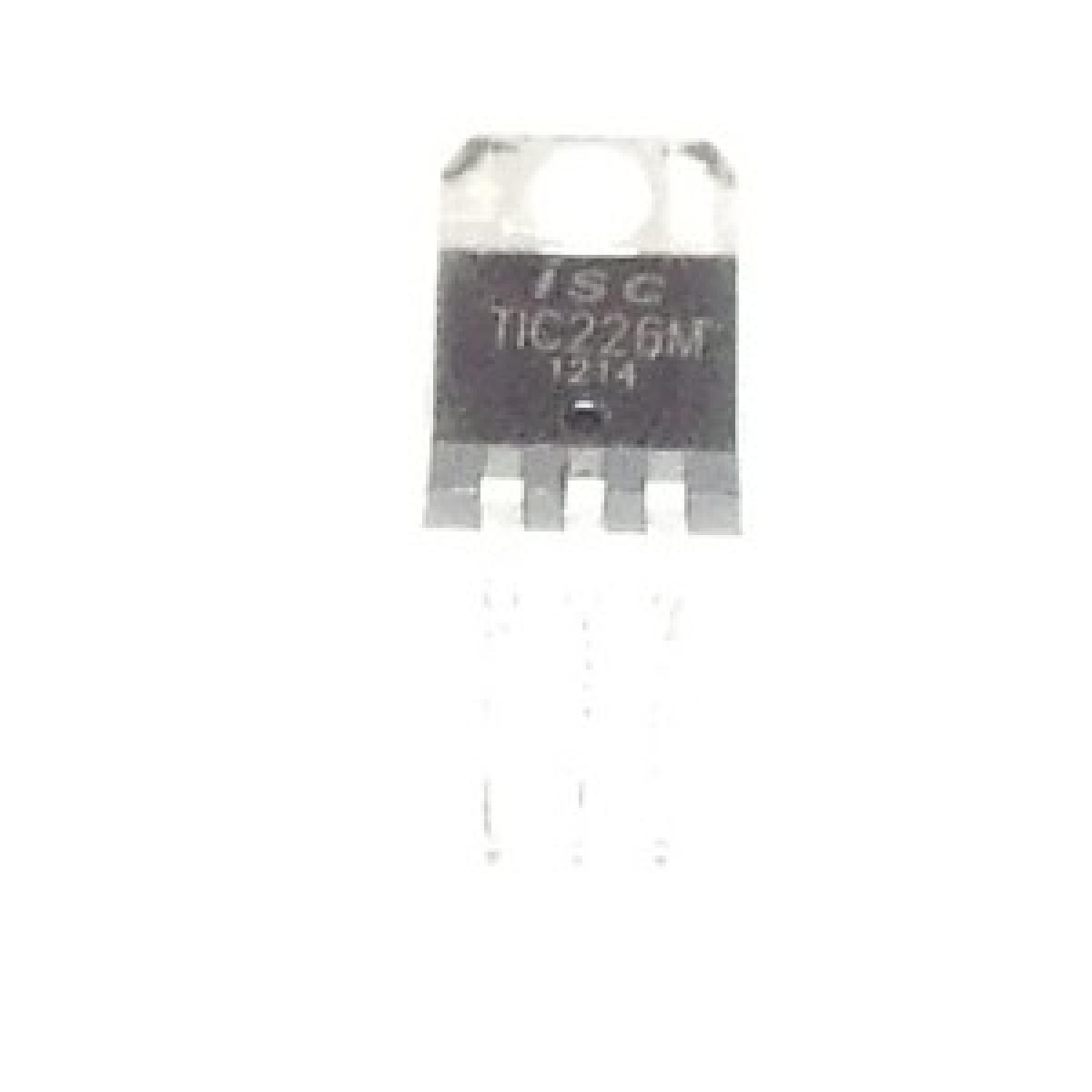 2 x tic116d TRIAC 400v 8a 5w ISC to-220 2pcs