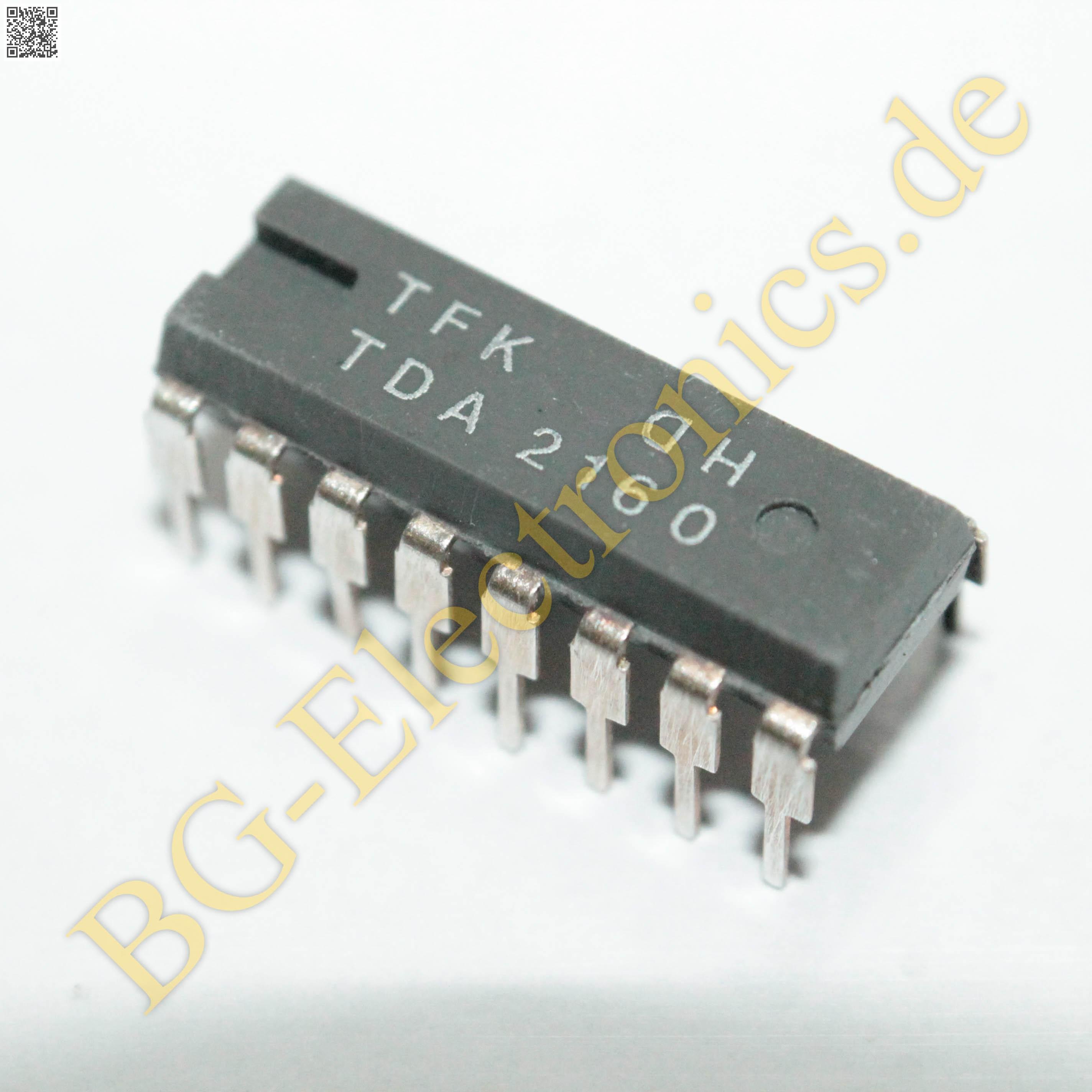 1 x IC U 2010 B Phasenanschnittsteuerung DIP16